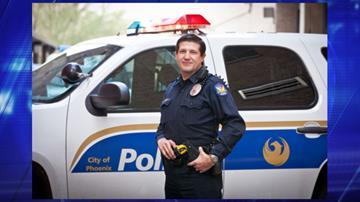 Officer Scott Sefranka, Phoenix Police Dept. By Jennifer Thomas