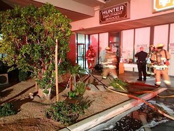 Crescent Center fire By Christina O'Haver
