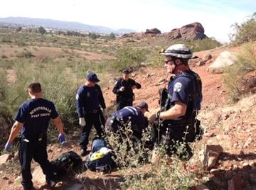 Mountain rescue at Papago Park By Jennifer Thomas