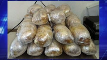 U.S. Customs and Border Protection officers at the Dennis DeConcini Port of Entry seized nearly 35 pounds of methamphetamine valued at more than $540,000. By Jennifer Thomas