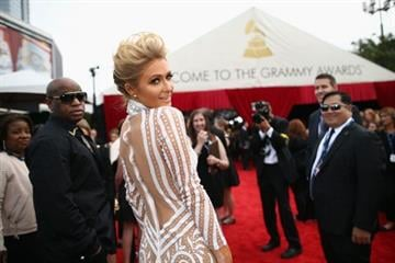 LOS ANGELES, CA - JANUARY 26:  Paris Hilton attends the 56th GRAMMY Awards at Staples Center on January 26, 2014 in Los Angeles, California.  (Photo by Christopher Polk/Getty Images for NARAS) By Christopher Polk