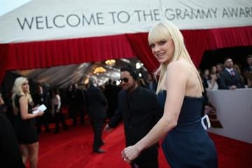 LOS ANGELES, CA - JANUARY 26:  Actress Anna Faris attends the 56th GRAMMY Awards at Staples Center on January 26, 2014 in Los Angeles, California.  (Photo by Christopher Polk/Getty Images for NARAS) By Christopher Polk