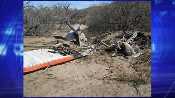 Wikieup plane crash By Jennifer Thomas