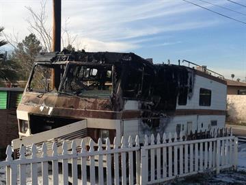 Fatal RV fire By Jennifer Thomas
