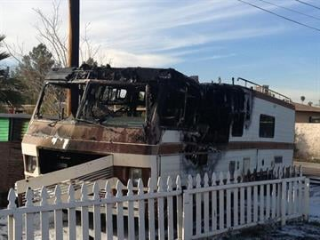 Fatal RV fire By Jennifer Thomas