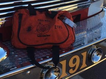 Peoria firefighters used Fido Bags to save several cats. By Jennifer Thomas