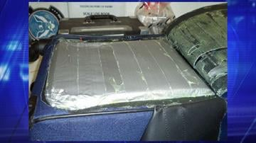 More than 7 pounds of heroin were found by CBP officers assigned to the Port of Nogales. By Jennifer Thomas