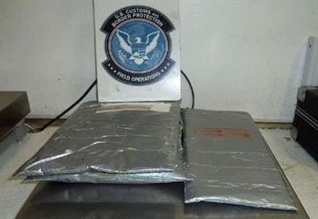 CBP officers assigned to the Port of Nogales seized more than 7 pounds of heroin that had been hidden inside of suitcases. By Jennifer Thomas