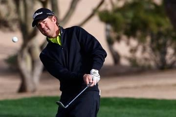 SCOTTSDALE, AZ - FEBRUARY 01:  Bryce Molder plays a shot on the 2nd hole during the third round of the Waste Management Phoenix Open at TPC Scottsdale on February 1, 2014 in Scottsdale, Arizona.  (Photo by Sam Greenwood/Getty Images) By Sam Greenwood