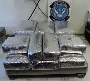 CBP officers in southern Arizona seized more than 18 pounds of cocaine, which had been hidden throughout the smuggling vehicle. By Jennifer Thomas