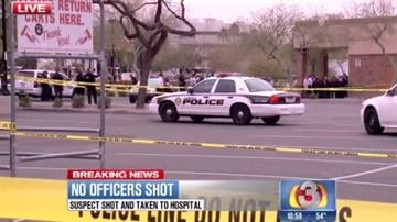 Officer-involved shooting at Thunderbird Road and 59th Avenue in Glendale By Jennifer Thomas