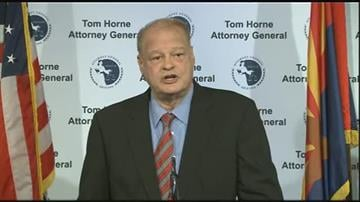 Arizona Attorney General Tom Horne By Jennifer Thomas