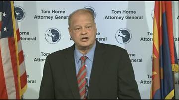 Arizona Attorney General Tom Horne By Jennifer Thomas