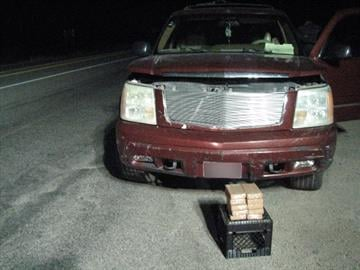 Chevrolet Suburban loaded with marijuana at State Route 80 checkpoint By Mike Gertzman