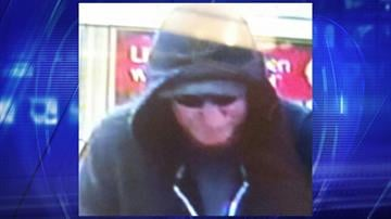 Bank of America robbery suspect By Jennifer Thomas