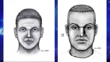 Suspect sketches in 38th Avenue incident (left) and Granada Road incident By Christina O'Haver