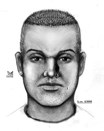 Suspect sketch in Granada Road incident By Christina O'Haver