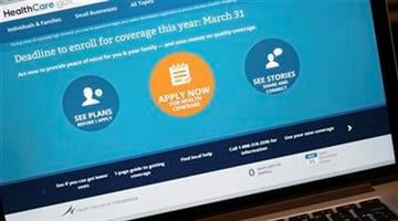 The HealthCare.gov website is shown on a laptop in Washington, Monday, March 31, 2014. (AP Photo/J. David Ake) By J. David Ake