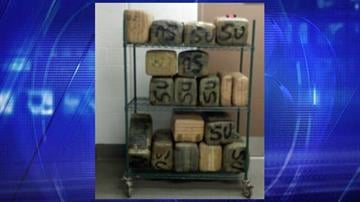 Border Patrol agents seized $176,000 worth of marijuana near Gila Bend on Monday. By Jennifer Thomas