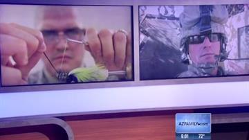 Arizona's Ivan Hurtado Lopez (left) and suspected gunman (right) By Christina O'Haver