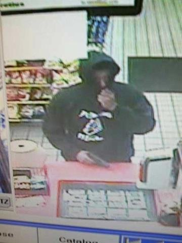 Surveillance photo from Circle K armed robbery By Jennifer Thomas