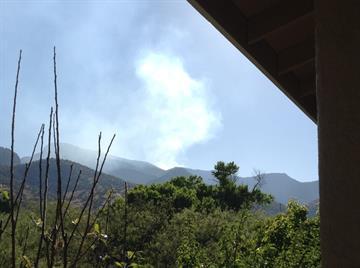 Brown Fire on April 13 By Jennifer Thomas