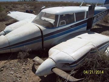 A small plane crashed in Fort Mohave Monday afternoon. By Jennifer Thomas