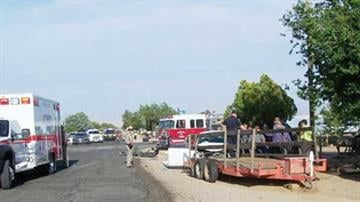 A law enforcement pursuit ended in a deadly crash Tuesday on Packard Avenue and Bond Street. Longtime Kingman resident Linda Chevalier was killed. (Courtesy) By Mike Gertzman