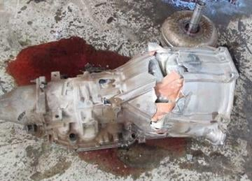 The transmission of a smuggling vehicle was removed by CBP officers in San Luis, Ariz., to remove packages of heroin concealed inside of it. By Jennifer Thomas