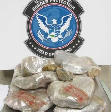 More than 26 pounds of heroin were seized by CBP officers at the Port of San Luis. By Jennifer Thomas