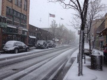 Snow in Flagstaff By Christina O'Haver
