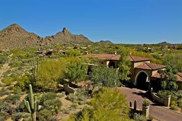 Spanish colonial inspiration in Scottsdale By Solutions Real Estate