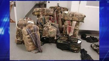Border Patrol agents seized 382 pounds of marijuana. By Jennifer Thomas