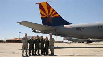 161st Air Refueling Wing By Christina O'Haver