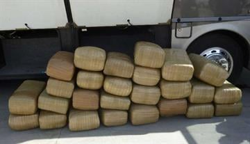 CBP officers assigned to the Port of Lukeville recovered 27 bundles of marijuana from within a recreational vehicle. By Jennifer Thomas