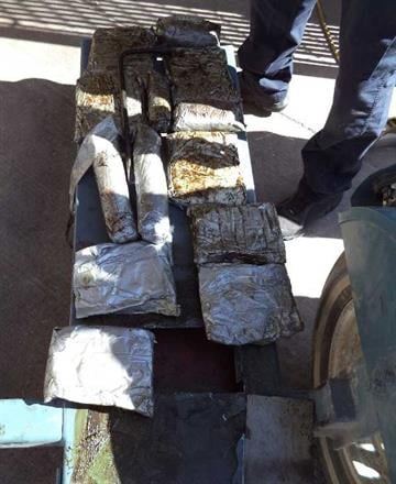 Twenty-eight packages of meth were seized by CBP officers assigned to the DeConcini crossing in Nogales, Ariz. By Jennifer Thomas