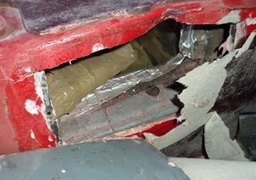 Methamphetamine and heroin are located by CBP officers at the Port of Nogales after a service canine unit alerted to the presence of drugs near the gas tank. By Christina O'Haver