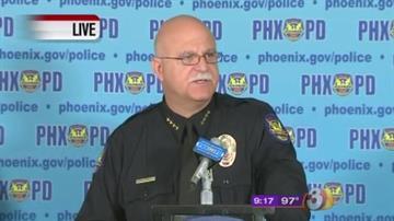 Phoenix Police Chief  Daniel Garcia By Catherine Holland
