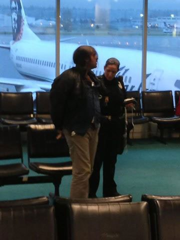 Alexander Michael Herrera was arrested at Portland International Airport. By Photo courtesy of KGW.com