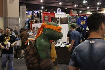 Guests attend the Phoenix Comicon at the Phoenix Convention Center By Jayson Chesler