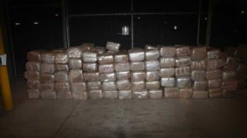 Marijuana seized from cattle trailer By Jennifer Thomas