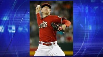 Arizona Diamondbacks pitcher Chase Anderson throws against the Atlanta Braves during the third inning of a baseball game, Sunday, June 8, 2014, in Phoenix. By Jennifer Thomas