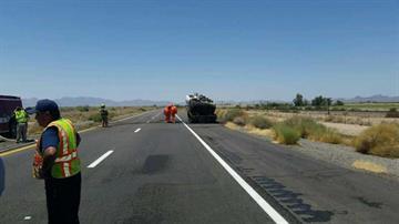 Interstate 8 near Yuma By Jennifer Thomas