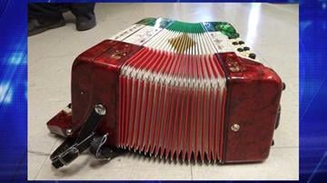 CBP officers at the Port of Nogales seized an accordion after discovering it contained 4.5 pounds of methamphetamine. By Jennifer Thomas
