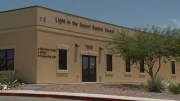 Light in the Desert Church By Jennifer Thomas