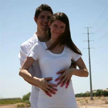 Cody Farrabee and Rheana Hazel By Jennifer Thomas