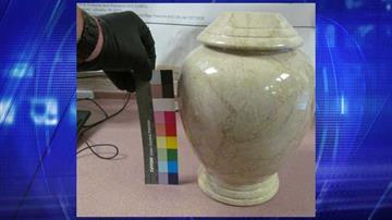 Sealed funeral urn By Jennifer Thomas