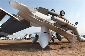 F-16s at Davis-Monthan Air Force Base By Jennifer Thomas