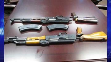 CBP officers assigned to the Port of Lukeville seized two AK-47 assault rifles as well as two empty ammunition magazines from within a smuggling vehicle By Jayson Chesler