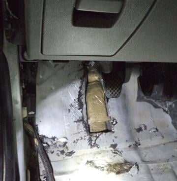 Thirteen pounds of heroin were seized by CBP officers at the Dennis DeConcini crossing in Nogales, Ariz. By Jennifer Thomas